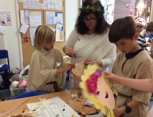 Class 4's Ancient Greek Day