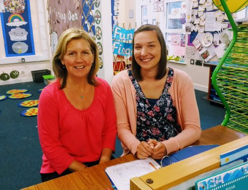 Welcome to Mrs Ivall and Miss Smale!