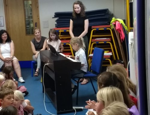Our lovely piano recitals…