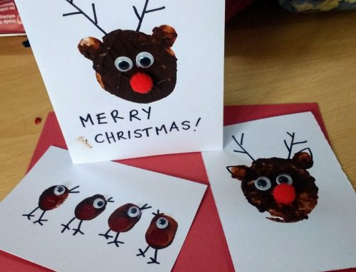 Christmas craft cards…