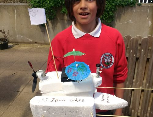 Class 4's boats!