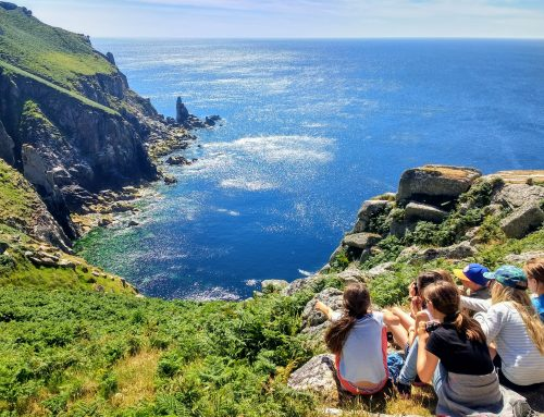 Year 5 on Lundy, 2018