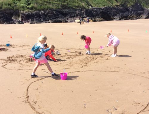 Beach Day & Year 2 Sleepover!