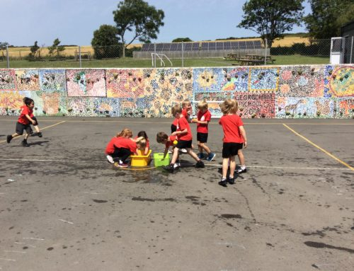 Class 1 gets super-soaked!