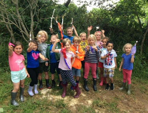 Potatoes and Forest School!