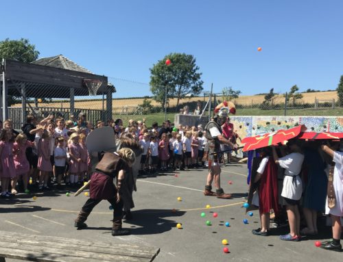 Romans Invade Georgeham School