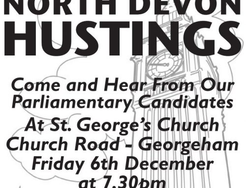 Hustings at St. George's Church…