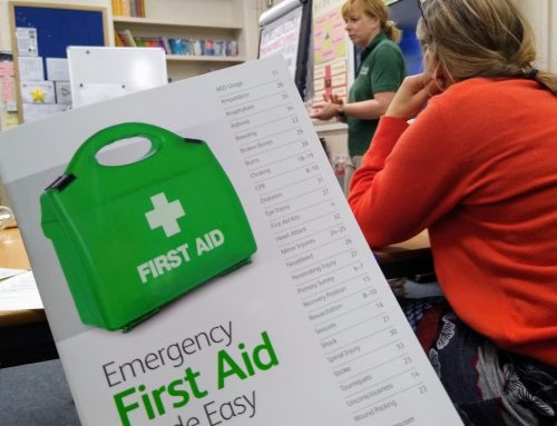 We also do first aid…