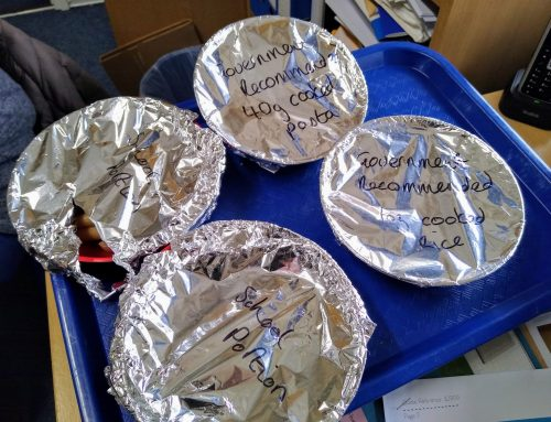 Our School Council… on food.