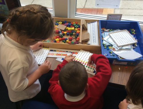 First week in EYFS!